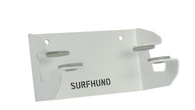 longboard wandhalterung multi horizontal surfhund in weiss
